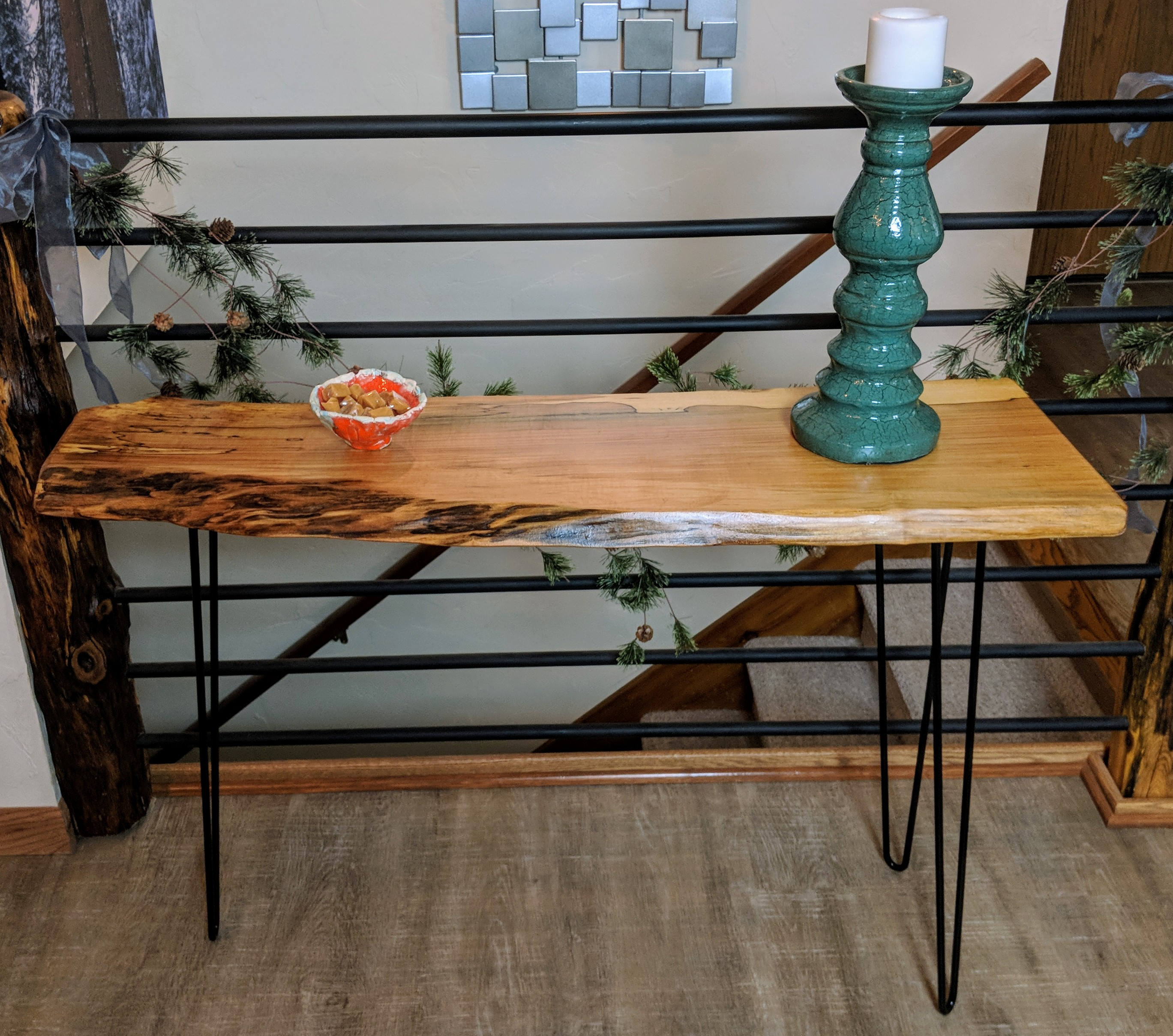 Console tables wooden wonders spalted maple console table geotapseo Image collections